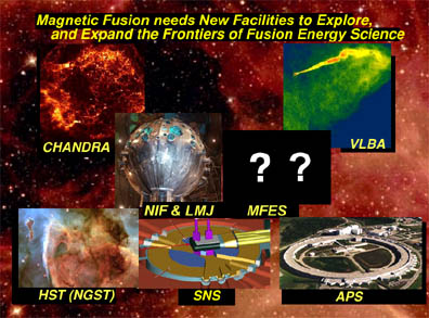 Collage of $1B US Science Facilities